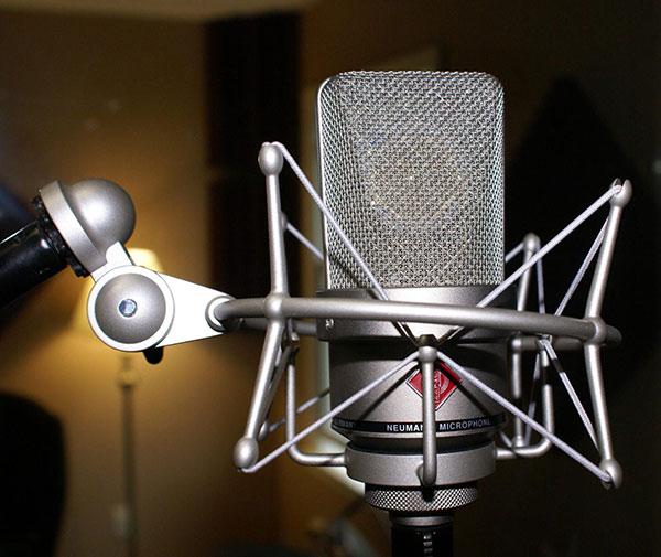 microfones para gravação de voz