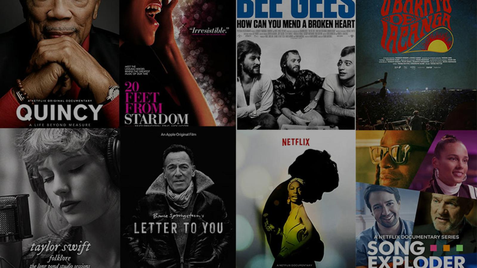 documentarios musicais