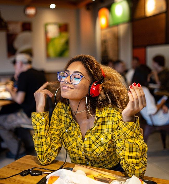 boa experiência auditiva após masterização